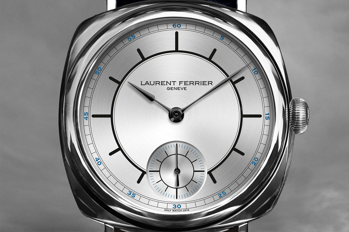 Laurent Ferrier Galet Square Sector Dial Unique Piece Only Watch 2015 - 3
