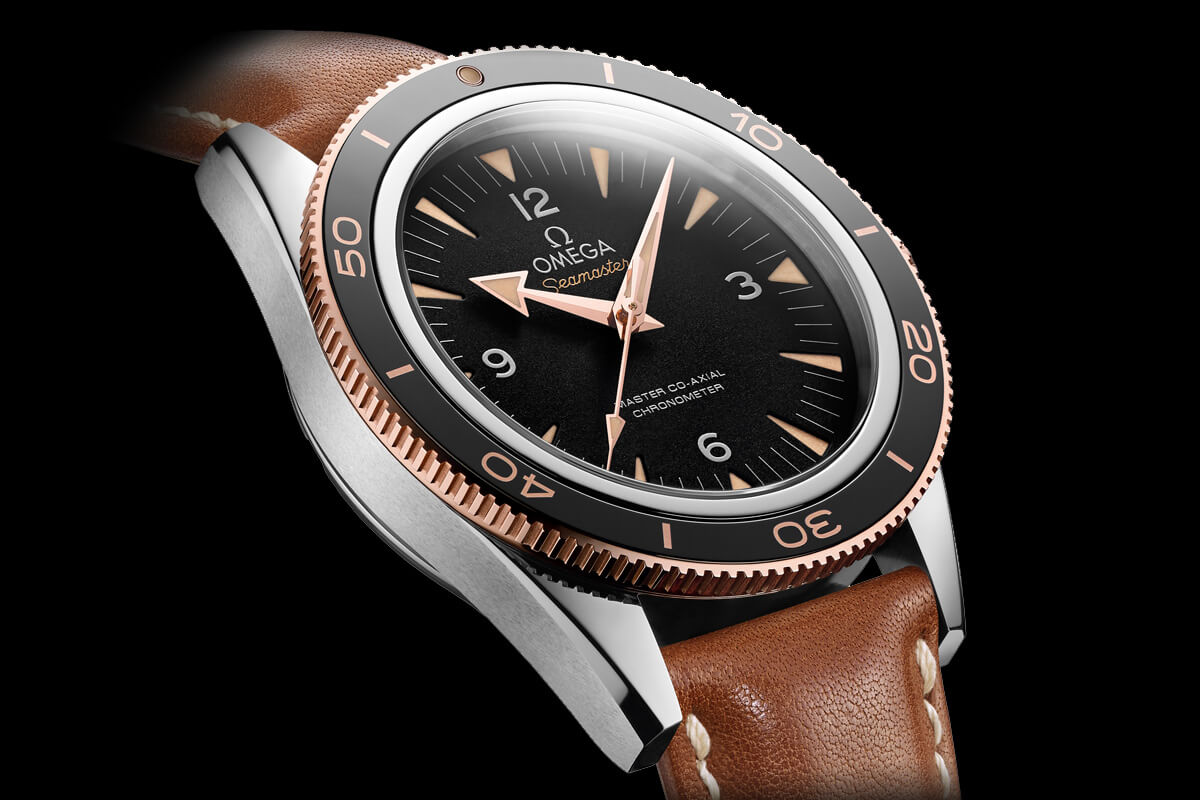 Omega Seamaster 300 Master Co-Axial Chronometer Leather strap - 3