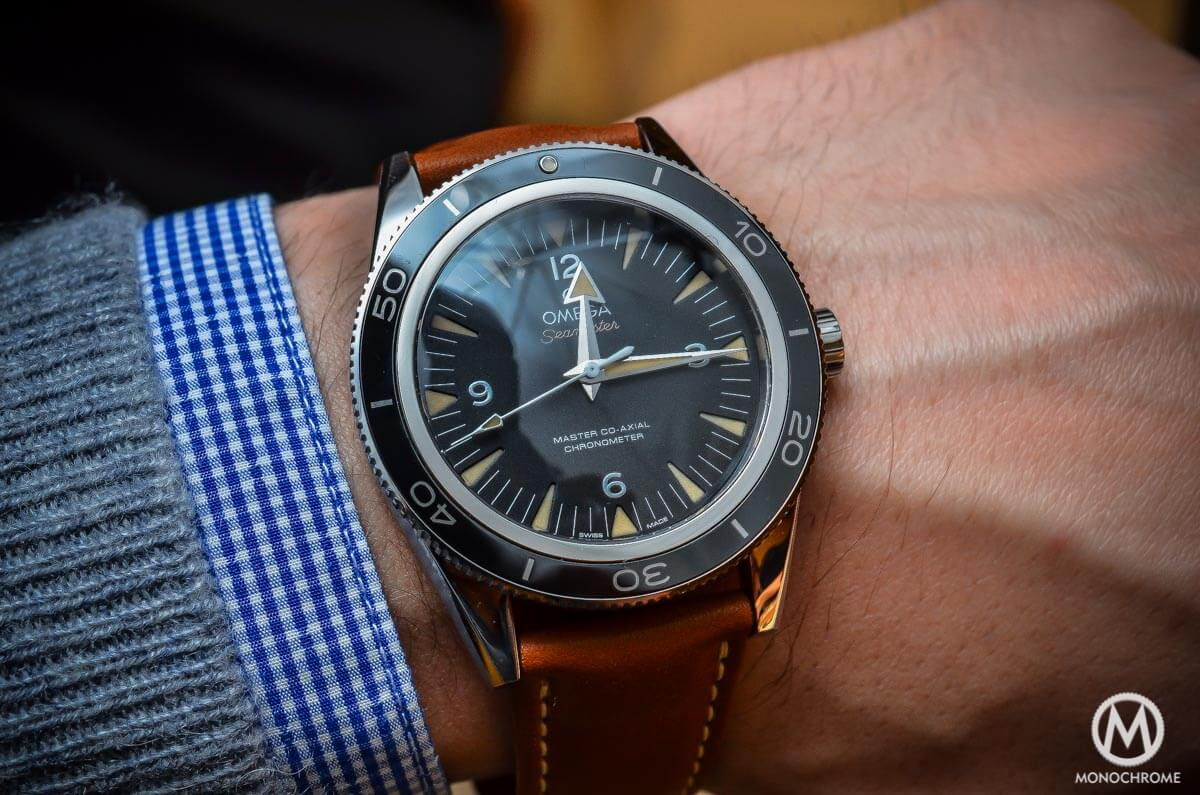 Omega Seamaster 300 Master Co-Axial Chronometer Leather strap - 4
