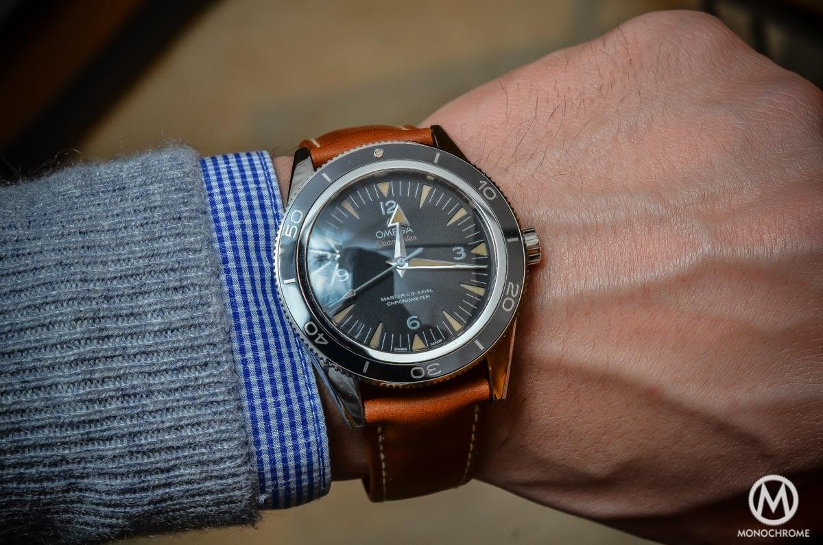 The Omega Seamaster 300 Master Co Axial