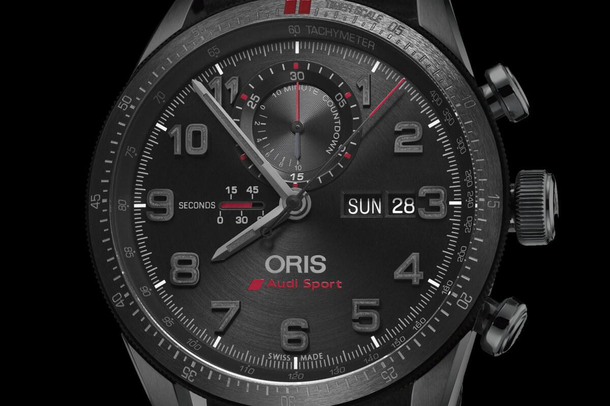 Oris Audi Sport Limited Edition II Chronograph - 5