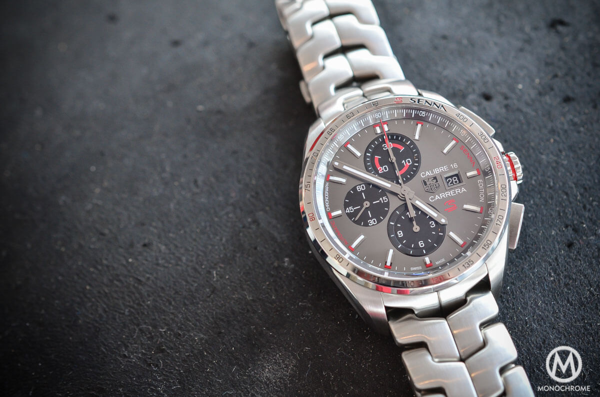 4a80bfecb7c Hands-on with the new TAG Heuer Carrera Calibre 16 Senna Special ...