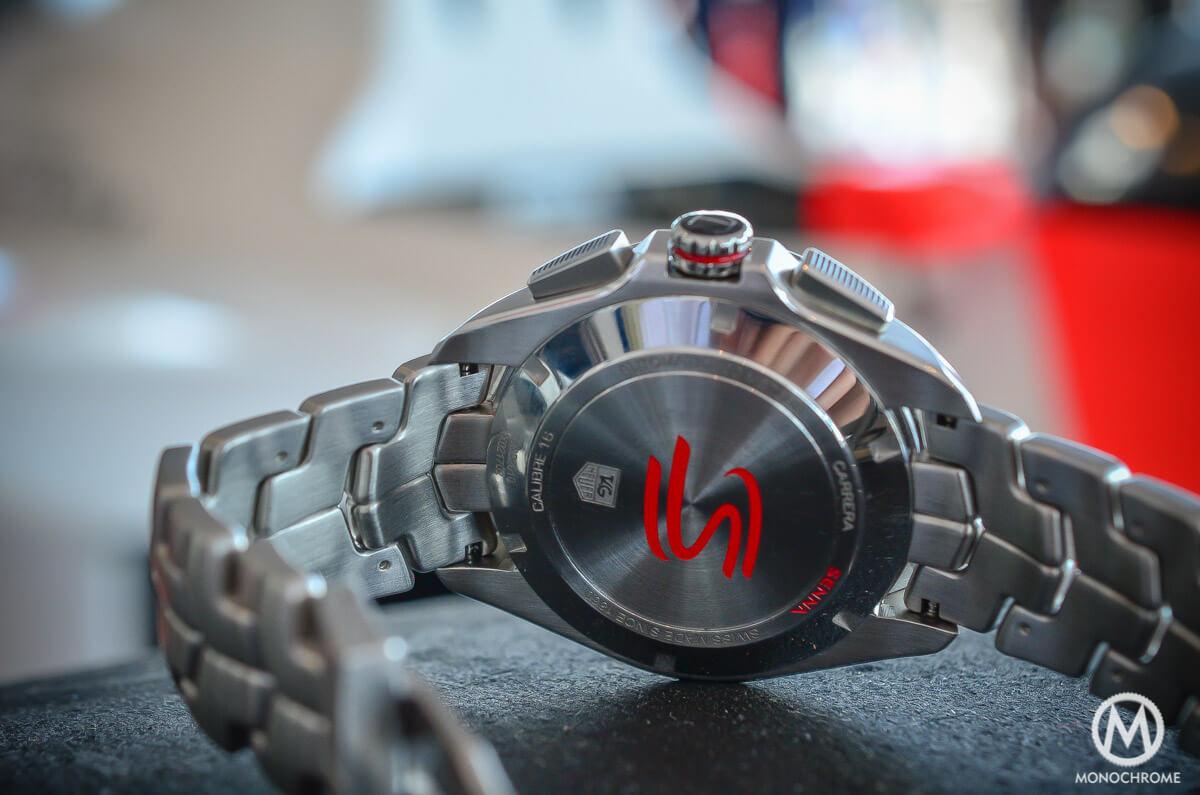 TAG Heuer Carrera Calibre 16 Senna steel link bracelet - 6