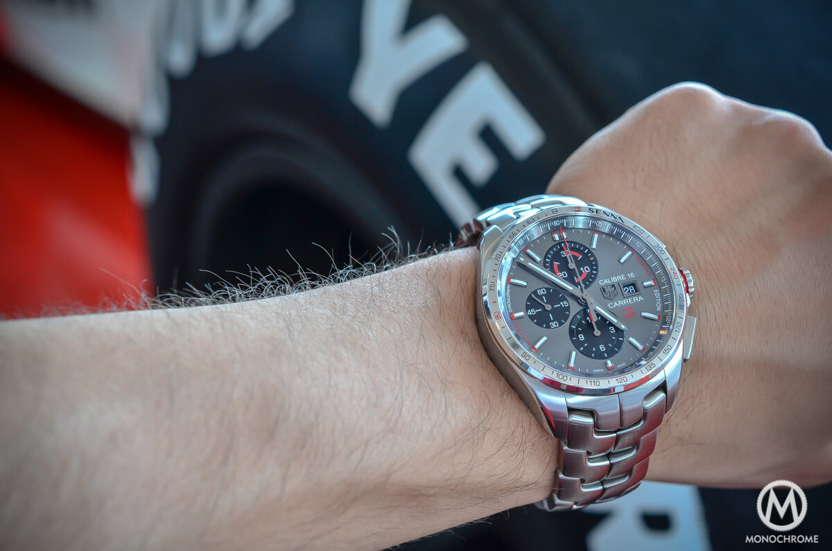 224ae296bbe1e Hands-on with the new TAG Heuer Carrera Calibre 16 Senna Special ...