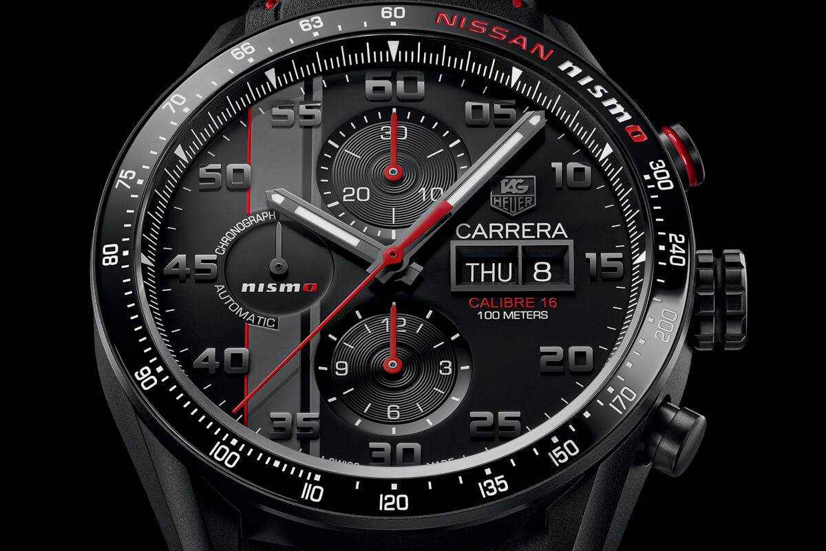 TAG Heuer Carrera NISMO Calibre 16 Day-Date Chronograph Special Edition - 2