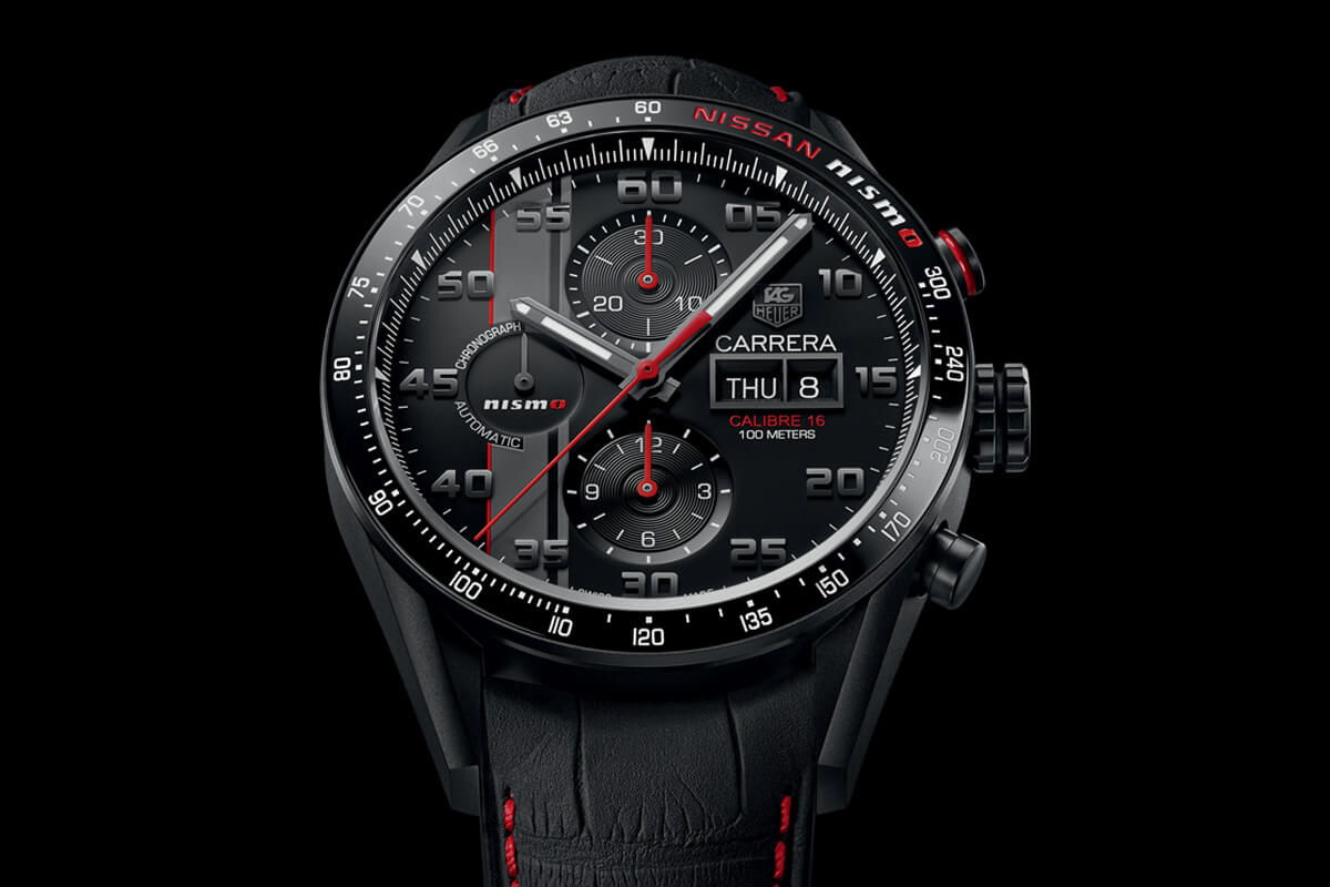 TAG Heuer Carrera NISMO Calibre 16 Day-Date Chronograph Special Edition - 3
