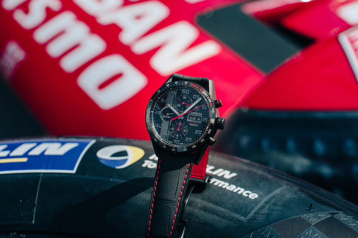 TAG Heuer Carrera NISMO Calibre 16 Day-Date Chronograph Special Edition - 4