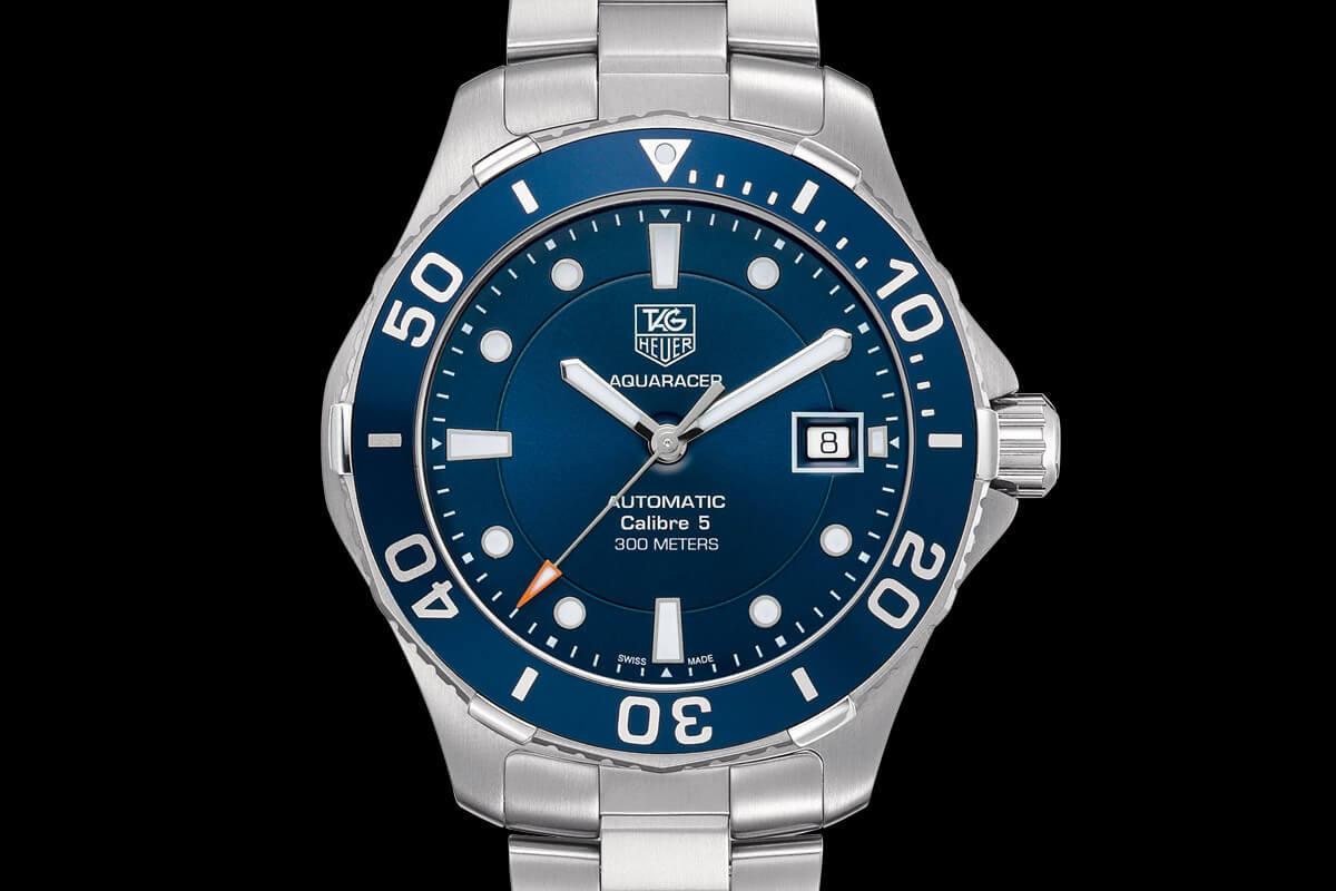 Tag Heuer Aquaracer 300m blue dial