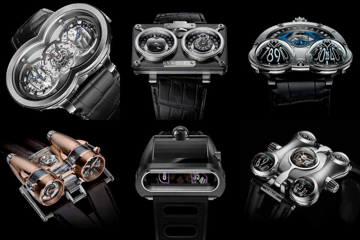 The MB&F Horlogical machine series