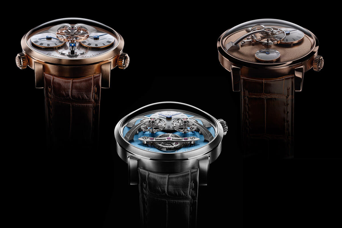 The MB&F legacy machine series
