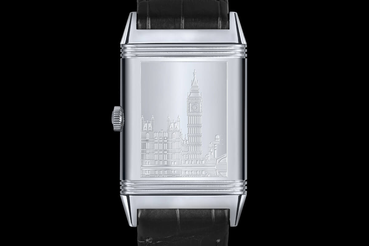 jaeger-lecoultre grande reverso 1931 Ultra thin special edition london flagship - 1