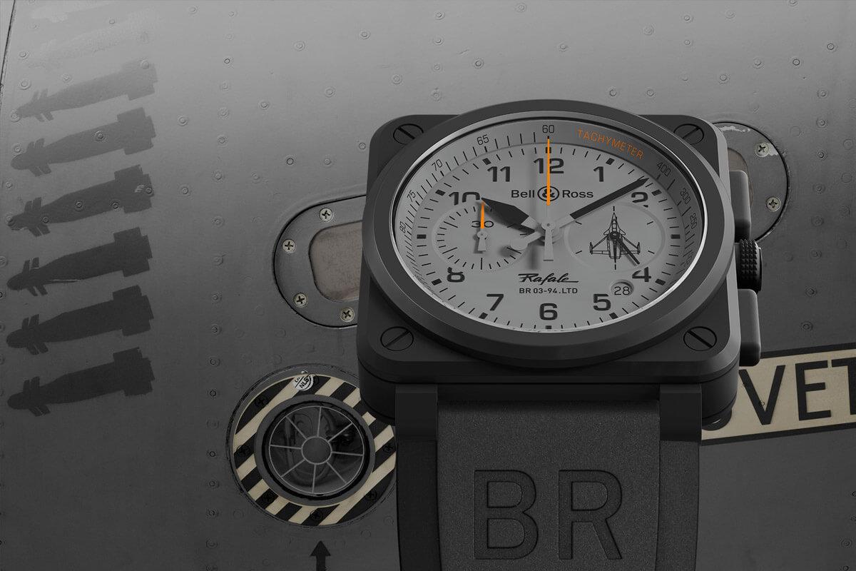 Bell & Ross BR 03 Rafale - BR 03-93 Ceramic Chronograph - 1