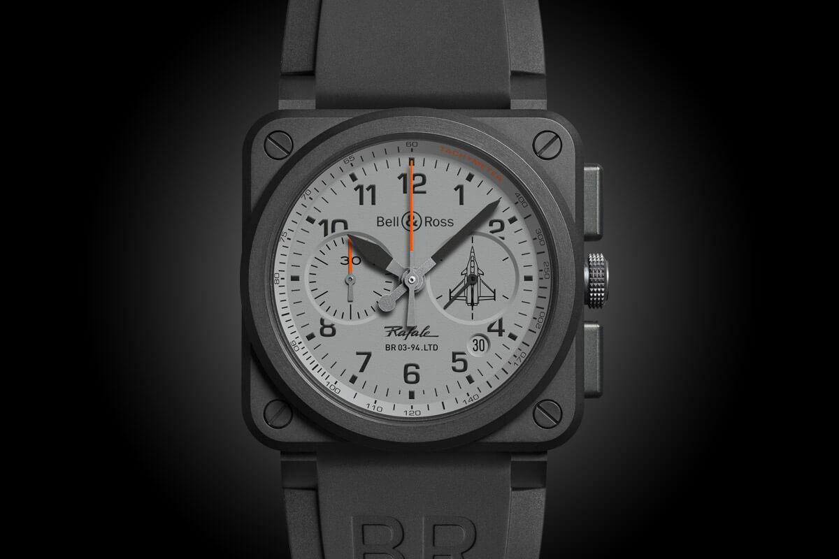 Bell & Ross BR 03 Rafale - BR 03-93 Ceramic Chronograph - 3