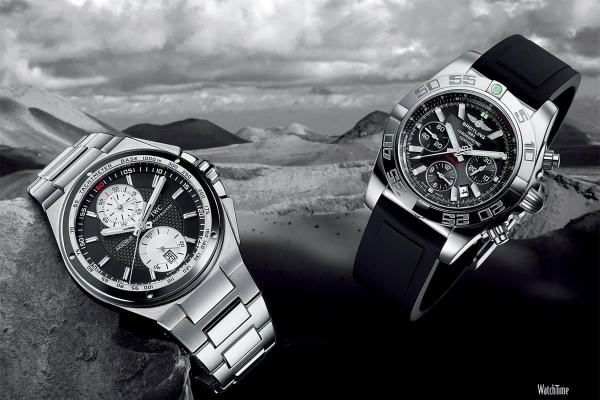 Comparative Review - Breitling Chronomat B01 vs. IWC Ingenieur Chronograph - 3