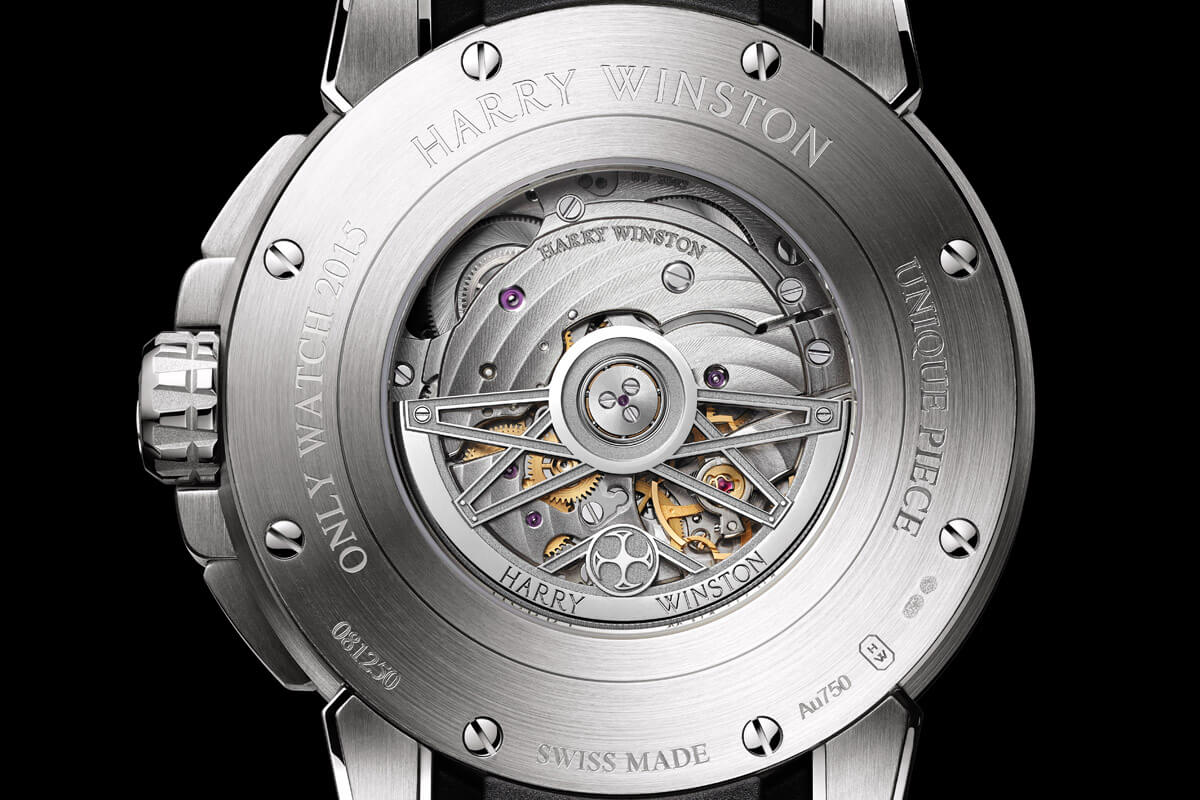 Harry Winston Ocean Dual Time Retrograde Unique Only Watch 2015 - 2
