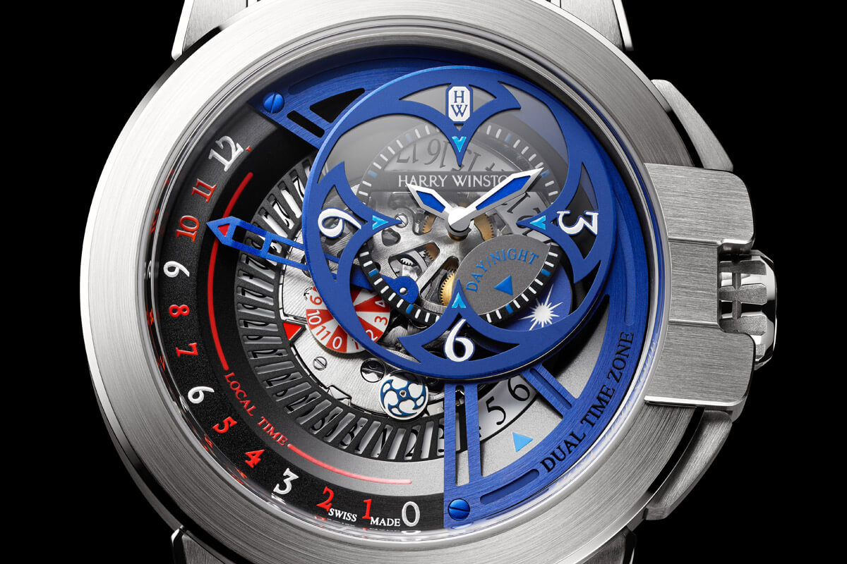 Harry Winston Ocean Dual Time Retrograde Unique Only Watch 2015 - 3