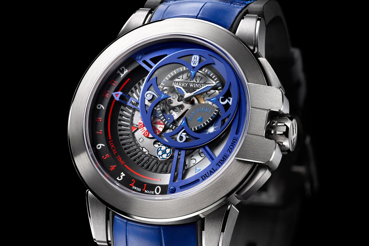 Harry Winston Ocean Dual Time Retrograde Unique Only Watch 2015 - 4