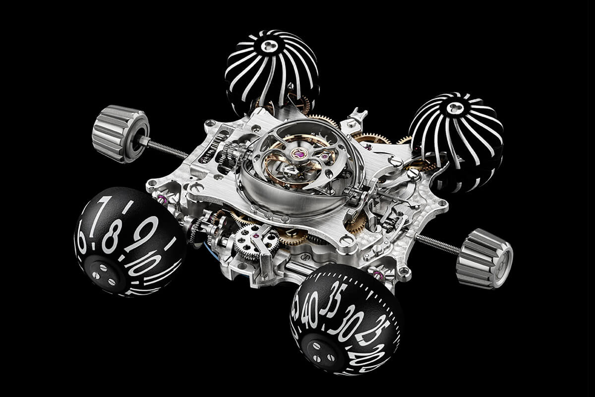 MB&F HM6 RT Space Pirate Red Gold - 1