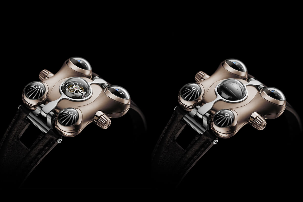 MB&F HM6 RT Space Pirate Red Gold - 3