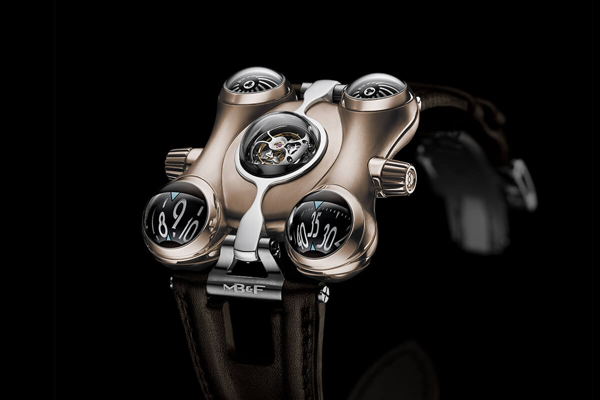 MB&F HM6 RT Space Pirate Red Gold - 6