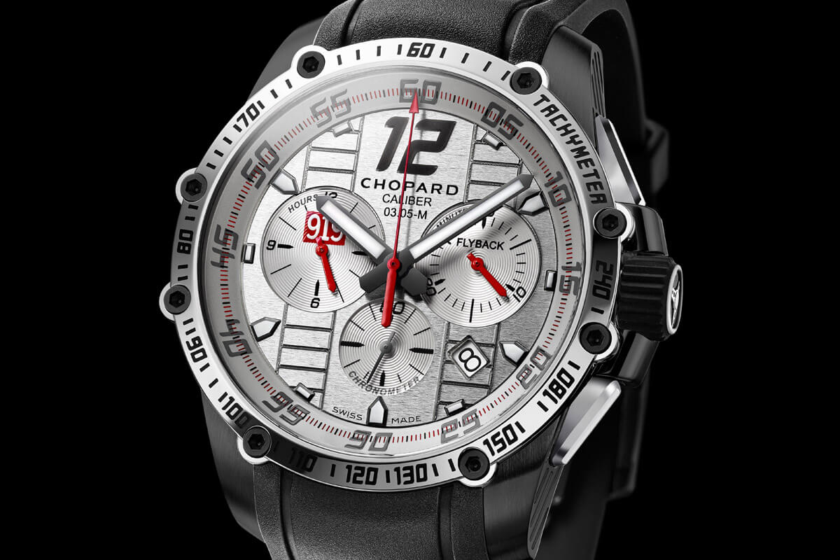 Only Watch 2015 - Unique Chopard Superfast Chrono Porsche 919 Mark Webber - 4