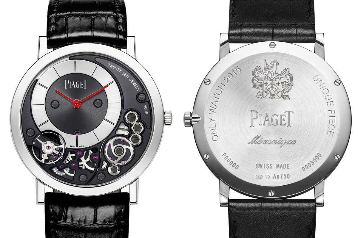 Piaget Altiplano 900P Only Watch 2015
