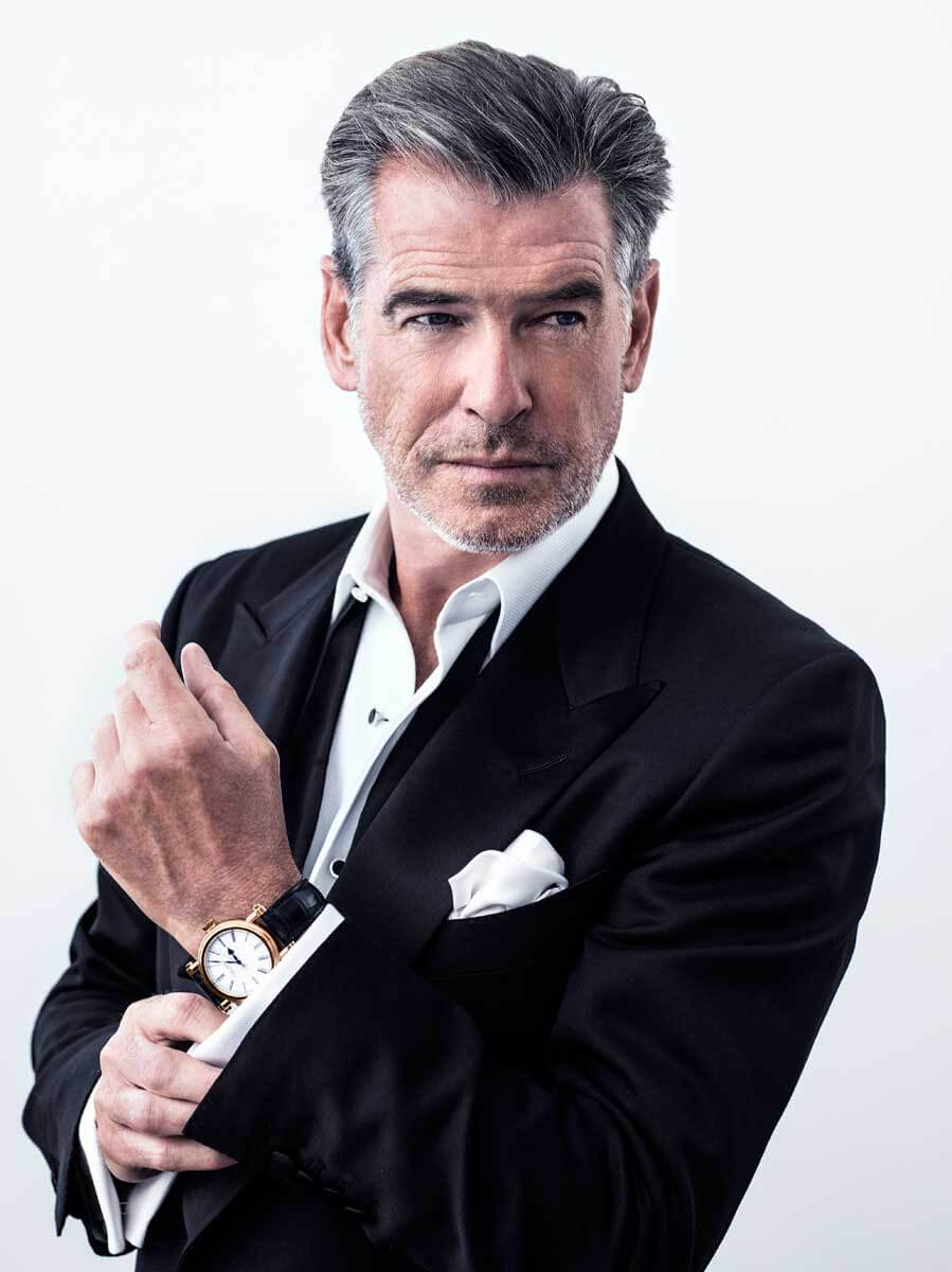 Pierce Brosnan with Speake-Marin Resilience
