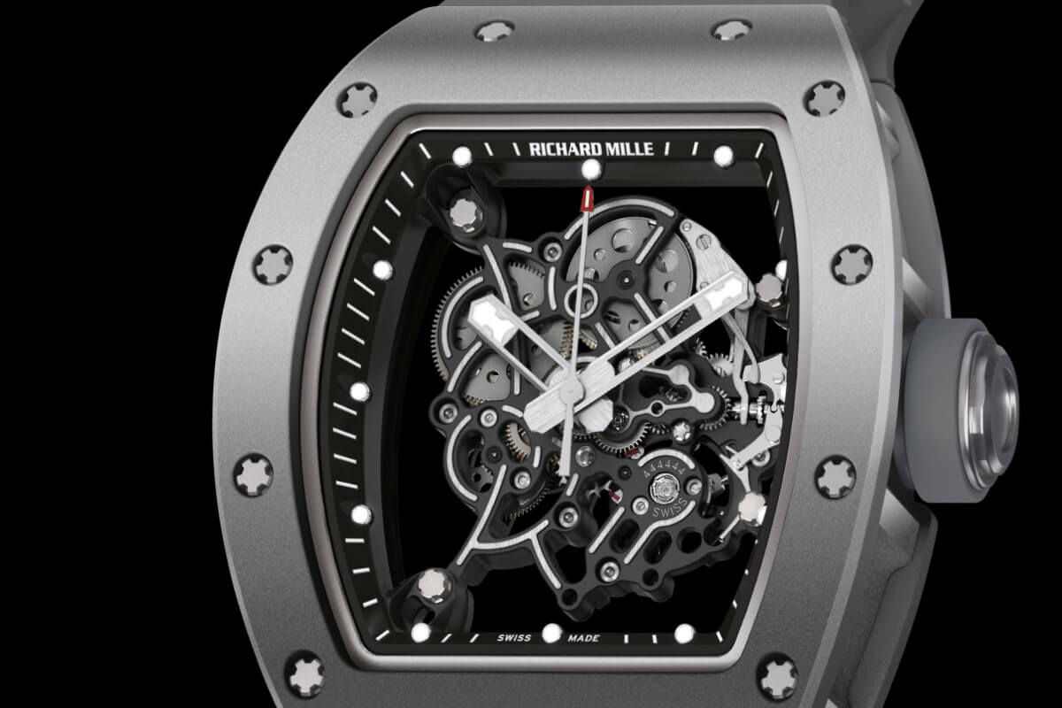 Richard Mille RM 055 Bubba Watson All Grey Boutique Edition - 1