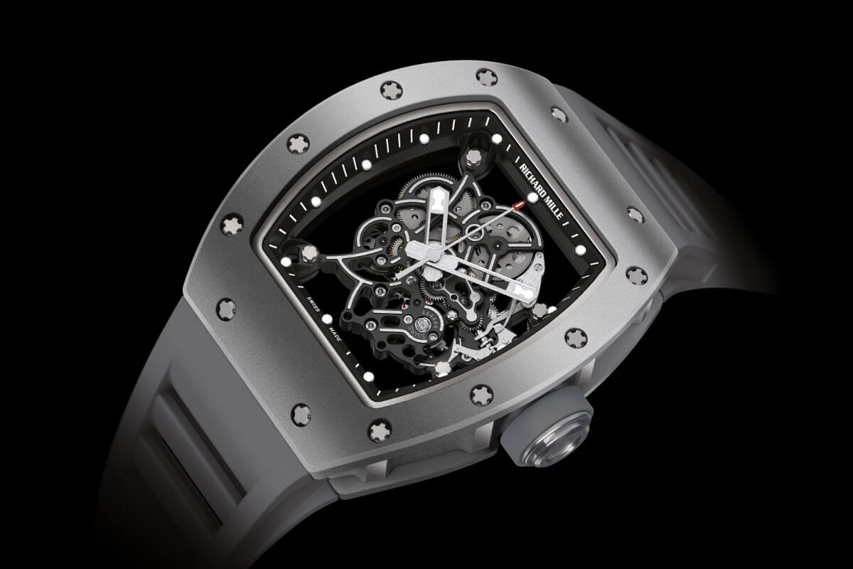 Richard Mille RM 055 Bubba Watson All Grey Boutique Edition - 2