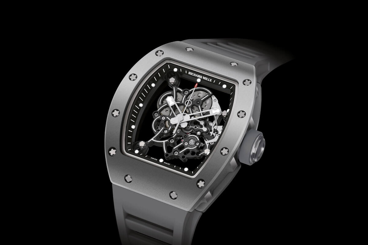 Introducing The Richard Mille Rm 055 Bubba Watson All Grey Boutique