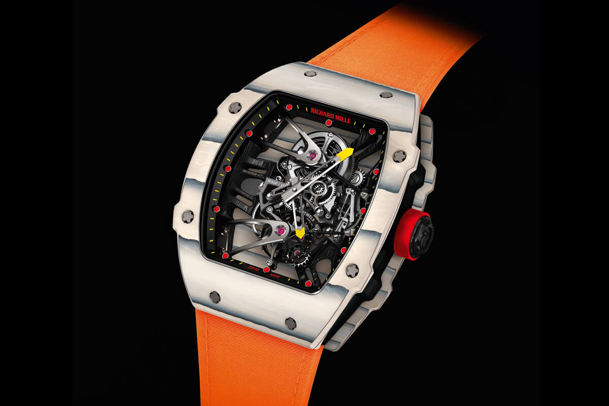 Only Watch 2015 A Prototype Of Richard Mille Rm 27 02 Tourbillon Rafael Nadal Actually Worn And Tested By Rafa Monochrome Watches
