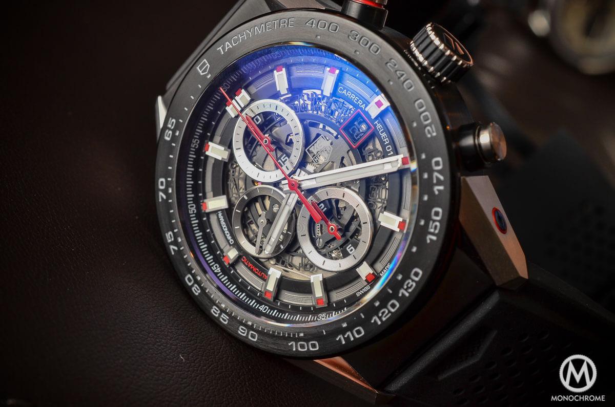 TAG Heuer Carrera Heuer-01 Baselworld 2015 - 1