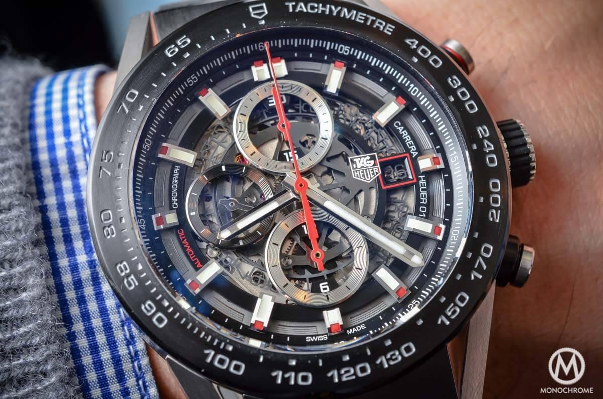 TAG Heuer Carrera Heuer-01 Baselworld 2015 - 6