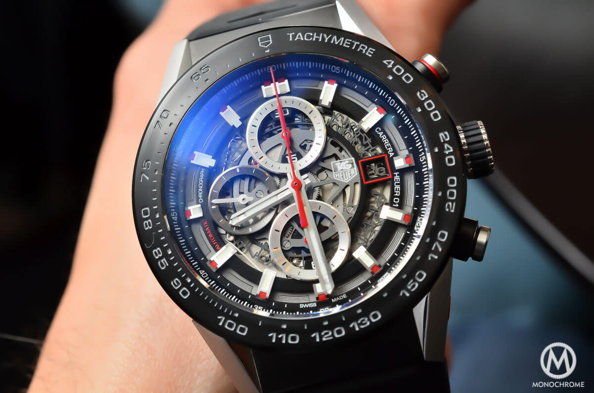 a754564581a A look at the TAG Heuer Carrera Calibre Heuer 01 (Specs   Price ...