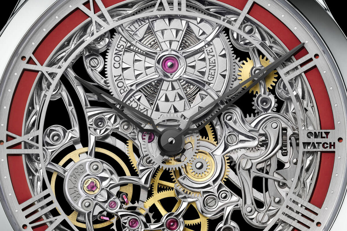 VACHERON CONSTANTIN METIERS D'ART MECANIQUES AJOUREES Only Watch 2015