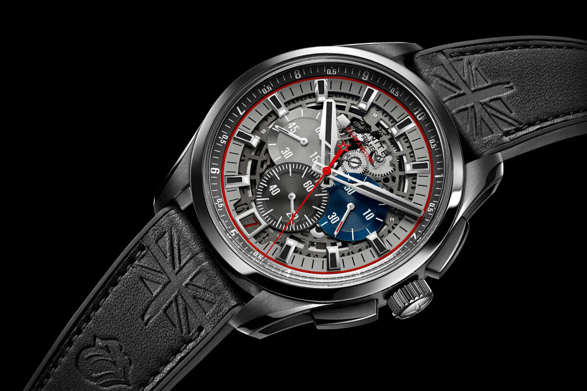 Zenith El Primero Striking 10th Lightweight Tribute to the Rolling Stones Only Watch 2015 - 1