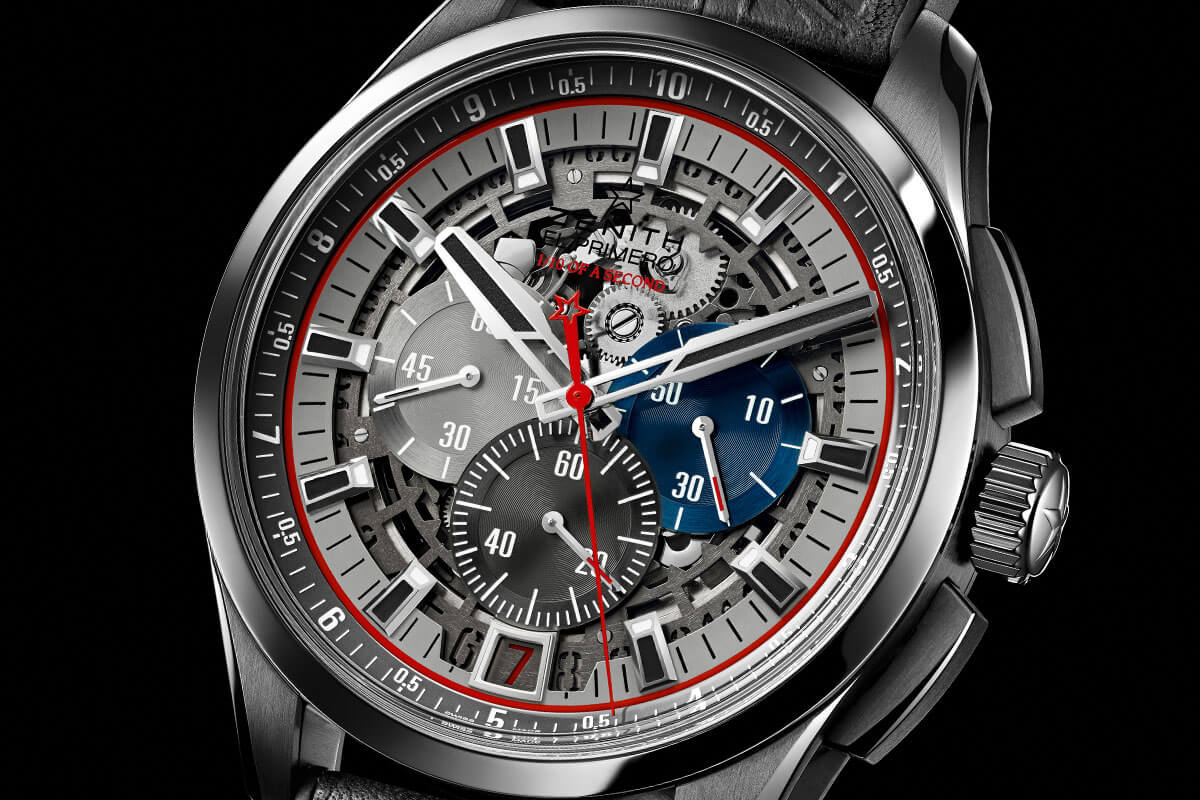 Zenith El Primero Striking 10th Lightweight Tribute to the Rolling Stones Only Watch 2015 - 2