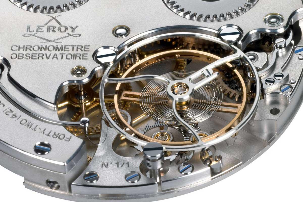 Leroy Chronomètre Observatoire calibre L200