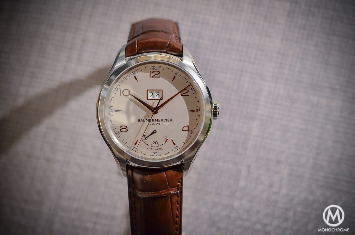 Baume Mercier Clifton Automatic Big Date and Power Reserve -2