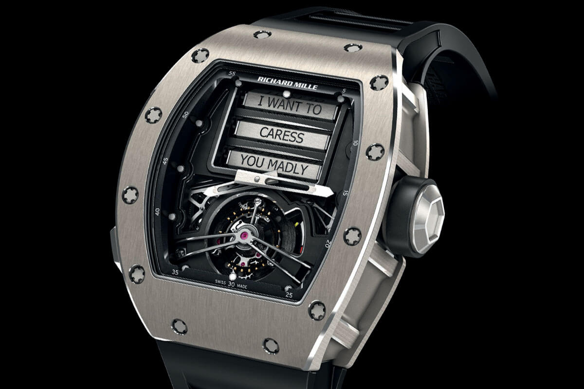 Richard Mille RM 69 Erotic Tourbillon - 2