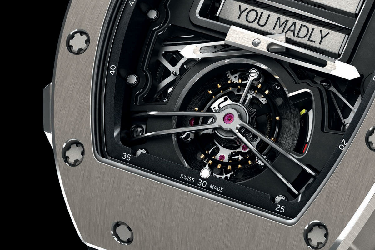 Richard Mille RM 69 Erotic Tourbillon - 3