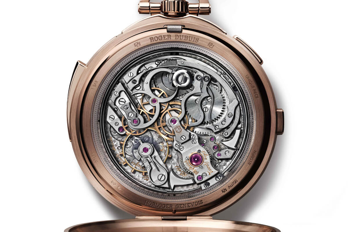 Roger Dubuis Hommage Millesime Unique Pocket Watch - 1