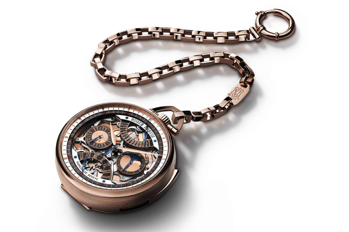 Roger Dubuis Hommage Millesime Unique Pocket Watch - 2