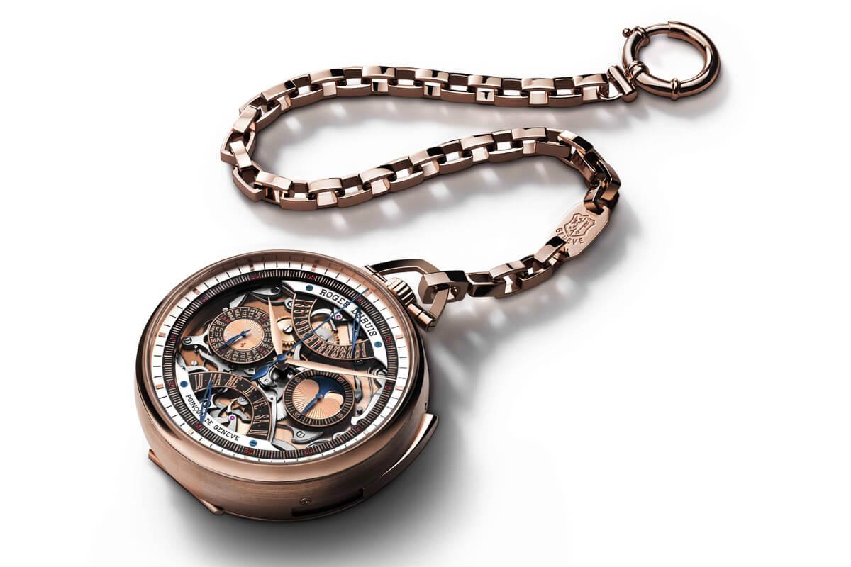 Roger Dubuis Hommage Millesime Unique Pocket Watch - 2