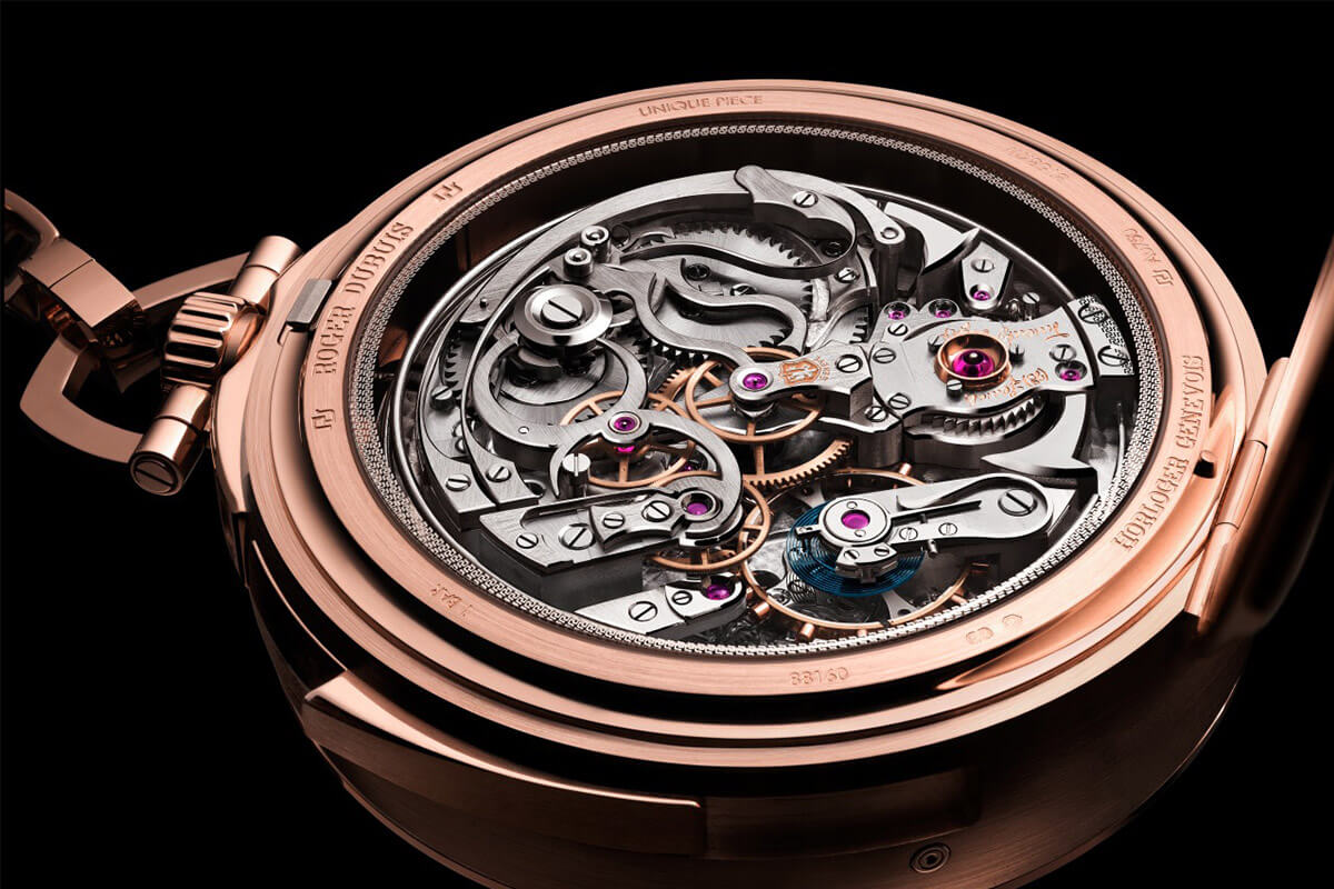 Roger Dubuis Hommage Millesime Unique Pocket Watch - 3