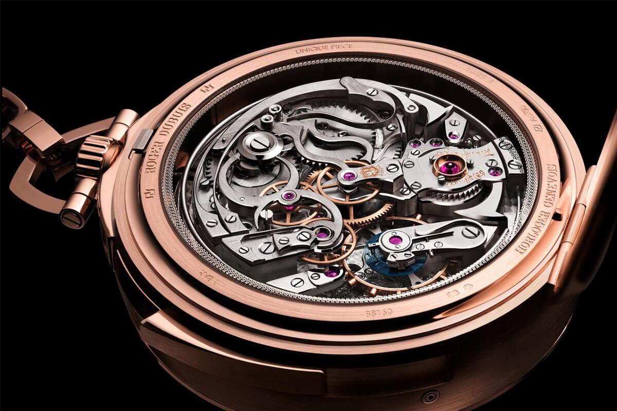 Roger Dubuis Hommage Millesime Unique Pocket Watch - 3