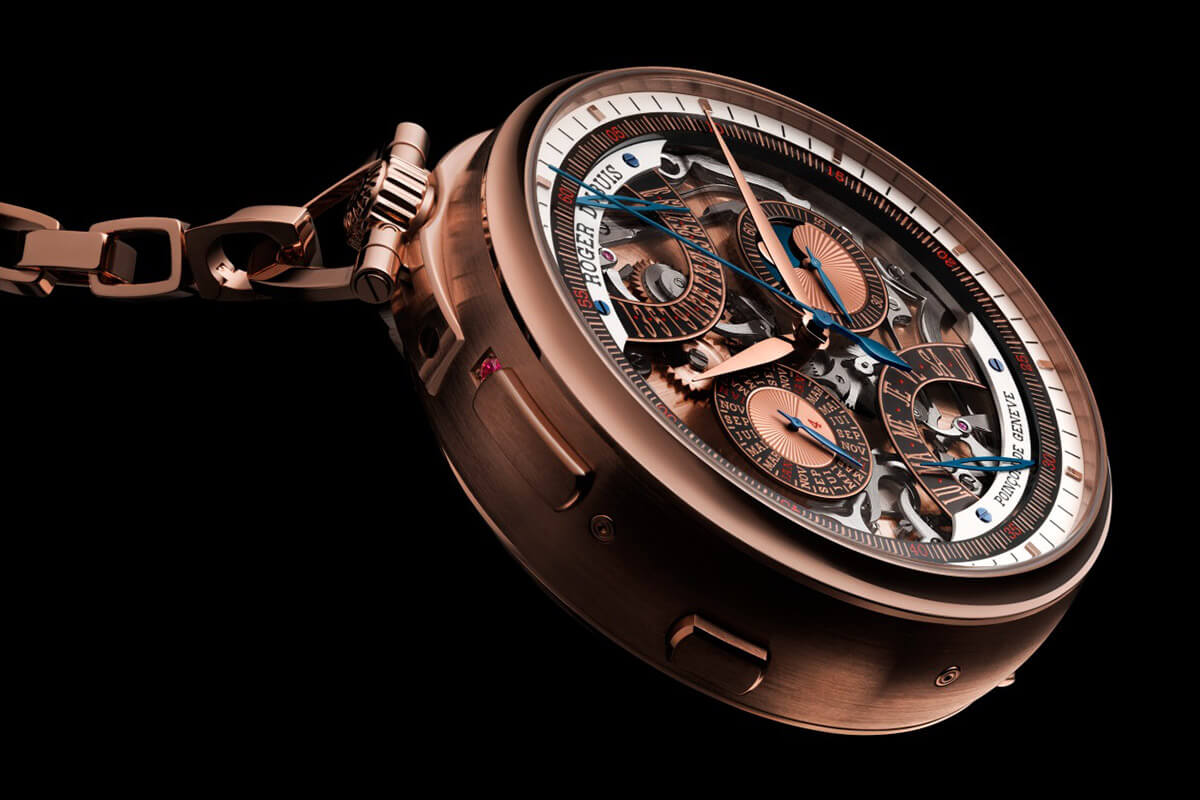 Roger Dubuis Hommage Millesime Unique Pocket Watch - 4