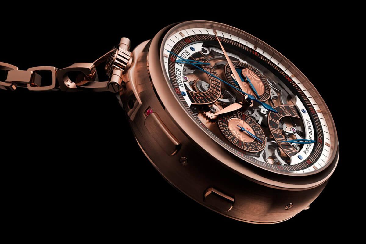 Roger Dubuis Hommage Millesime Unique Pocket Watch - 4
