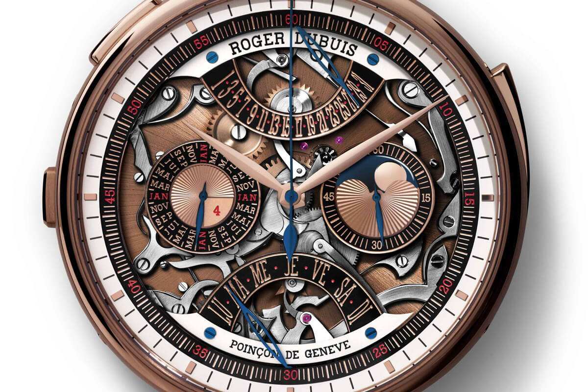 Roger Dubuis Hommage Millesime Unique Pocket Watch - 6