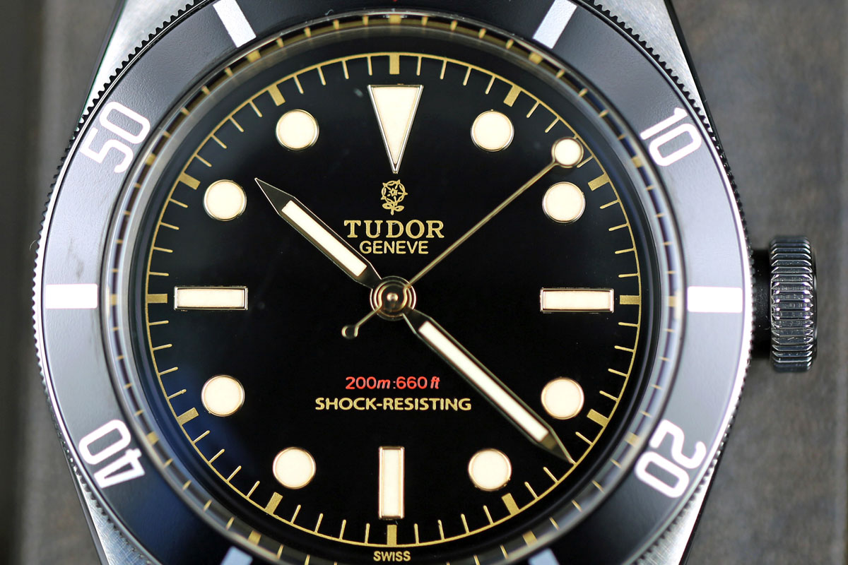 Tudor Heritage Black Bay One Ref. 7923-001 Unique watch For Only Watch 2015
